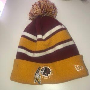 NWOT authentic NFL Redskins knit hat